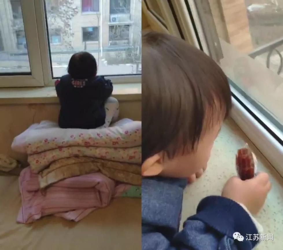 3岁女儿每天准时趴上窗台,一个小时不挪窝!亲爸凑近一瞧:服了!