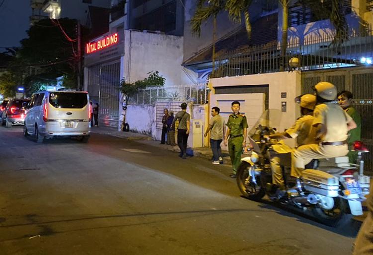 饭店周围道路被封锁(越南每日快讯)