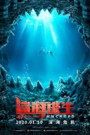 电影《鲨海逃生》定档1月10日 绝美海域暗藏鲨机