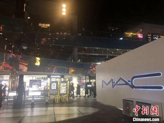 北京市某商圈。左宇坤 摄