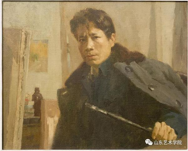 张洪祥先生70年代自画像