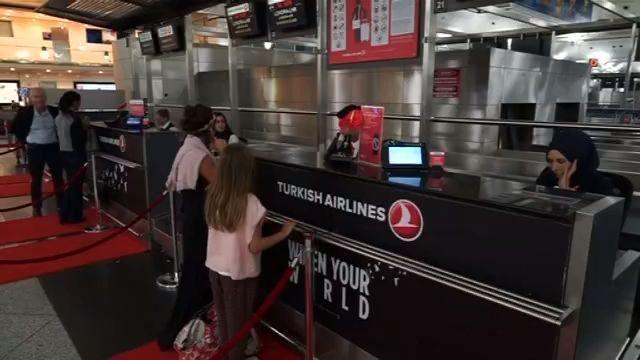 土耳其两家航空公司恢复飞往两伊航班