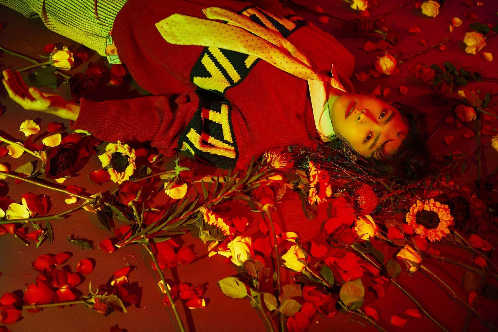 赫拉公主鲜花助力蜷川实花拍摄张艺兴秘密花园