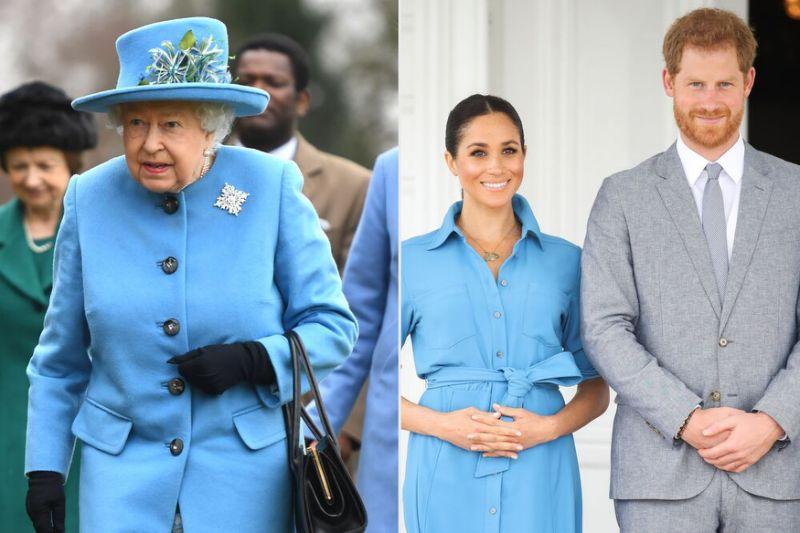 女王放话了!哈里梅根下月须重返英国参加王室活动