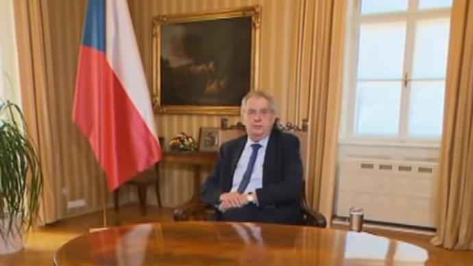 捷克总统:中国是唯一一个向捷克提供医疗物资援助的国家
