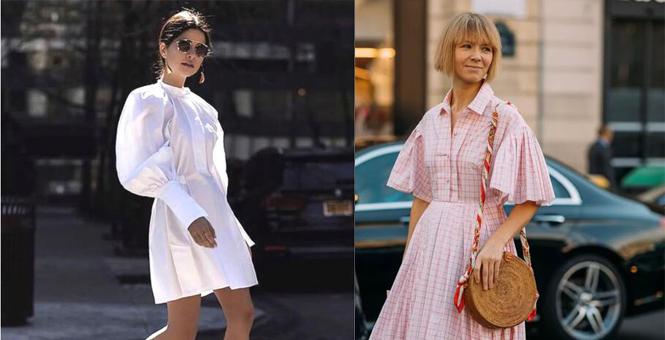 一条衬衫裙 穿对一件等于穿对一身